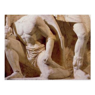 Battle scene, c.169 postcard