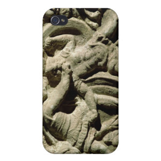 Battle scene from a cinerary urn, Etruscan iPhone 4 Cover