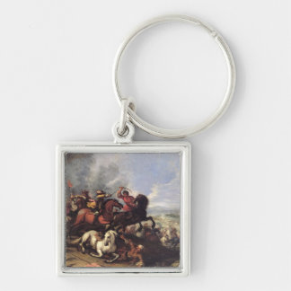 Battle Scene Key Ring