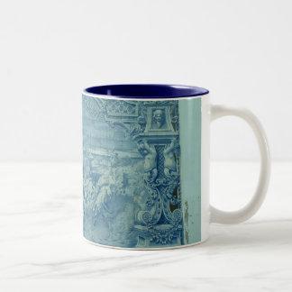 Battle scene coffee mugs