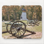 Battlefield Cannons Gettysburg PA Mouse Pad