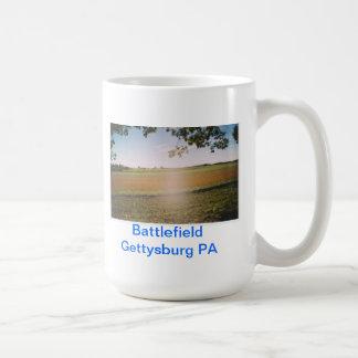 Battlefield Gettysburg PA Coffee Mug