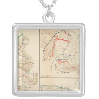 Battlefield, Nashville, Tenn Silver Plated Necklace