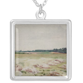 Battlefield of Agincourt, 25th October 1415 Silver Plated Necklace