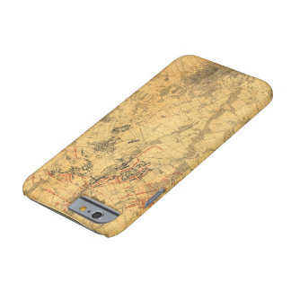 Battlefield of Gettysburg Map by John Bachelder Barely There iPhone 6 Case