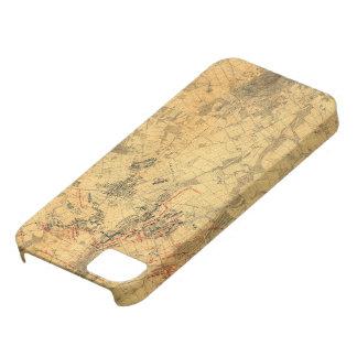 Battlefield of Gettysburg Map by John Bachelder Case For The iPhone 5