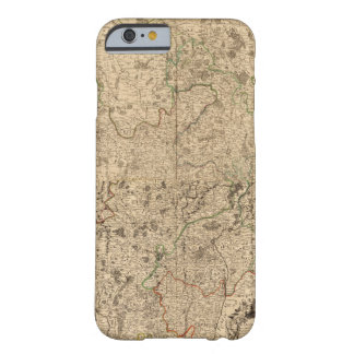 Battlefields and Roman roads Barely There iPhone 6 Case