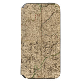 Battlefields and Roman roads Incipio Watson™ iPhone 6 Wallet Case