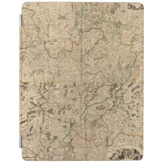 Battlefields and Roman roads iPad Cover