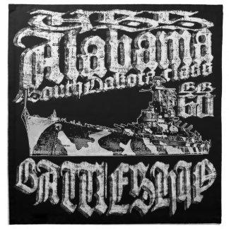 Battleship Alabama Cloth Napkin