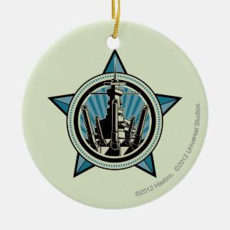 Battleship B7 Christmas Ornament