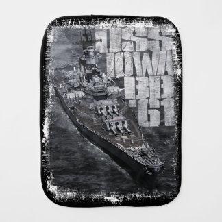 Battleship Iowa Burp Cloth Burp Cloth