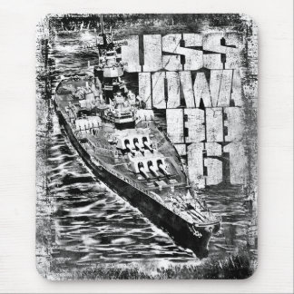 Battleship Iowa Mousepad