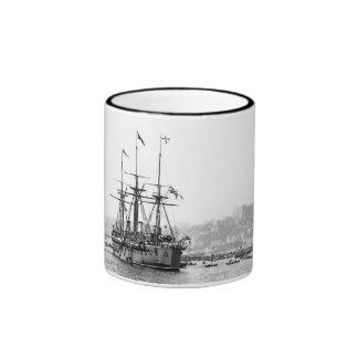 Battleship Kaiser Ringer Mug