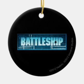 Battleship Logo Christmas Ornament