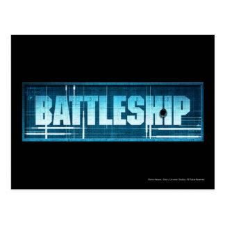 Battleship Logo Postcard