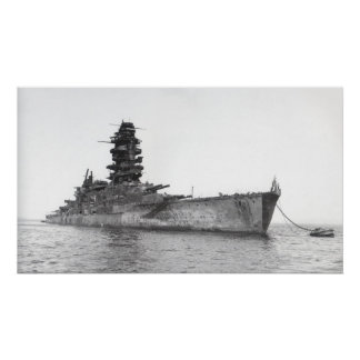 Battleship Nagato Poster