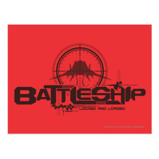 Battleship Naval 10 Postcard