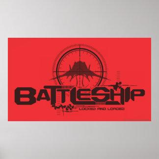 Battleship Naval 10 Poster