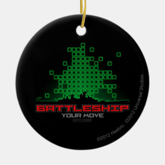 Battleship Naval 4 Christmas Ornament