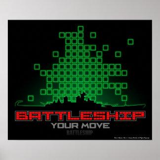 Battleship Naval 4 Poster