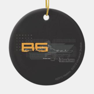 Battleship Naval 5 Christmas Ornament