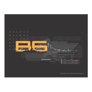 Battleship Naval 5 Postcard