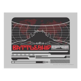 Battleship Naval 7 Postcard