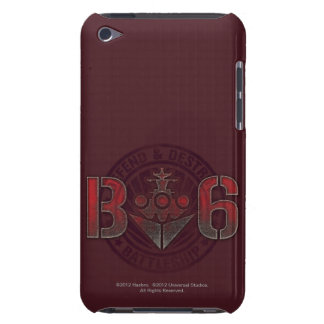 Battleship Naval 8 Barely There iPod Cases