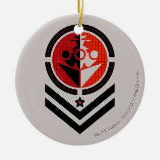 Battleship Propaganda Christmas Ornament