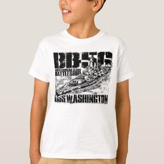 Battleship Washington Tee Shirt