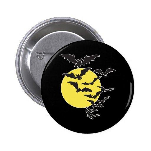 Batty Pinback Button