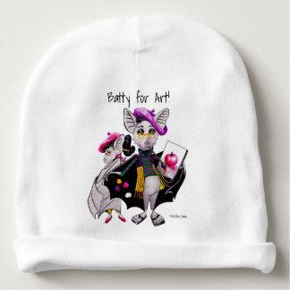 Batty for Art! Baby stocking hat Baby Beanie