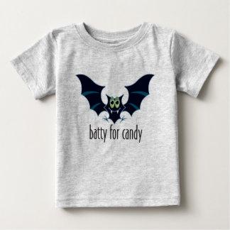 Batty For Candy Toddler Halloween Shirt