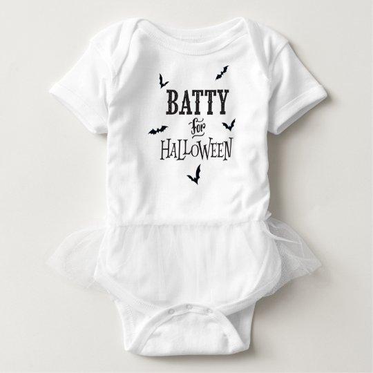 Batty For Halloween Baby Bodysuit