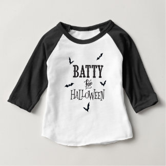Batty For Halloween Baby T-Shirt