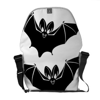 """Batty"" Messenger Bag"