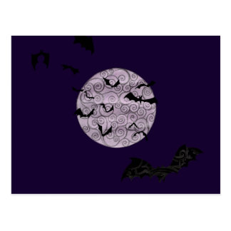 Batty Moon - postcard