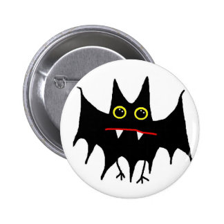 BattyBat 6 Cm Round Badge