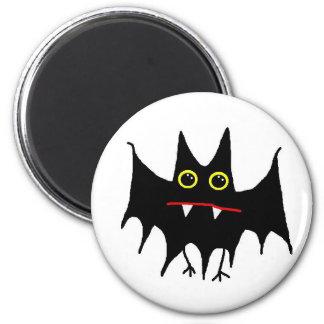 BattyBat 6 Cm Round Magnet