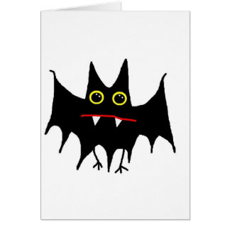 BattyBat Greeting Card