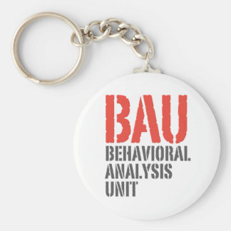 BAU Behavioral Analysis Units Key Ring