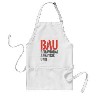 BAU Behavioral Analysis Units Standard Apron