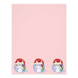 Bauble Cat Christmas Flyer