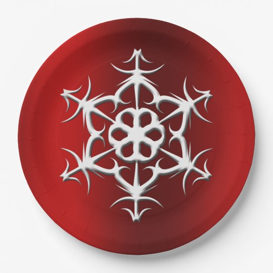 Bauble Paper Plate