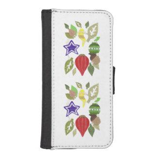 Bauble Wreath I-Phone 5/5s Wallet Case