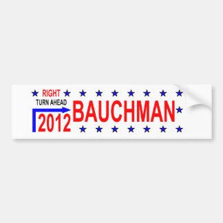 BAUCHMAN 2012 BUMPER STICKER