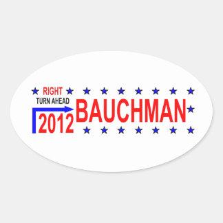 BAUCHMAN 2012 OVAL STICKER