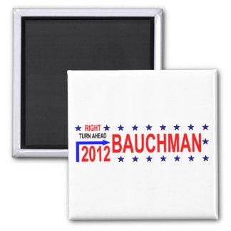 BAUCHMAN 2012 SQUARE MAGNET