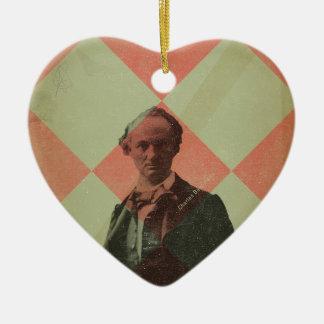 Baudelaire Christmas Ornament